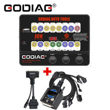 GODIAG GT100 자동 도구 OBDII 브레이크 아웃 박스 ECU 커넥터 및 GODIAG BMW FEM/ BDC 프로그래밍 테스트 플랫폼