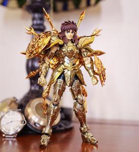 Image 3 - CS modeli aziz Seiya bez efsane ruhu tanrı SOG eski altın terazi Dohko metal kumaş SC014