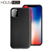 For iPhone 11 Case Leather Cover 11pro Max Cases Accessories Pro Shockproof Coque Funda