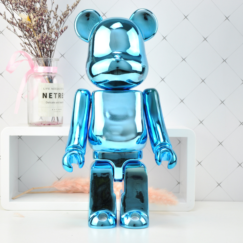 Bearbrick 36cm 500% Size Children Toy Home Decoration Modern Ornaments Creative Table Statue Resin Desk Decor