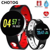Smart Armband Blutdruck Herz Rate Monitor Fitness Tracker Ip67 Wasserdichte Schrittzähler Armband Sport Smart Band Frauen Mann