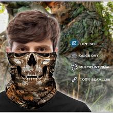 Tactical Buff Bandana maska szalik wojskowy ocieplacz na szyję odkryty polowanie Camo kominiarka maska kamuflaż wojskowy nakrycia głowy kobiety mężczyźni tanie tanio ORNATE ZITHER CN (pochodzenie) Patchwork Poliester Sport military mask bandana 25 x 50 cm (one size fit all) 100 polyester bandana seamless