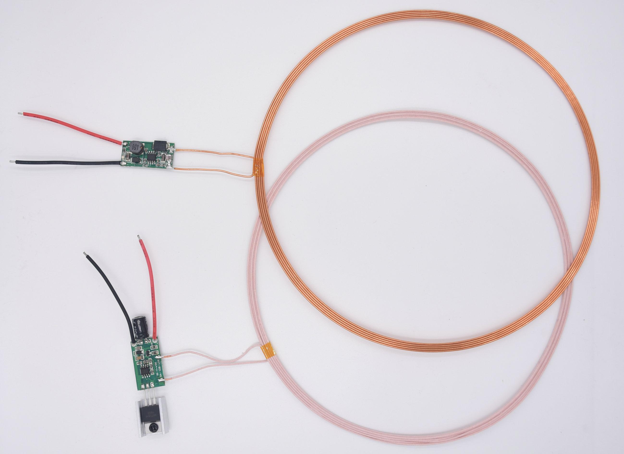 50mm Distance Output 5V 1.1A Long Distance High Current Wireless Charging Module XKT801-12