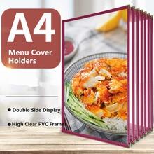 Holder-Covers Restaurant Book Frames-Supplies Drink-Wine Kitchen A4