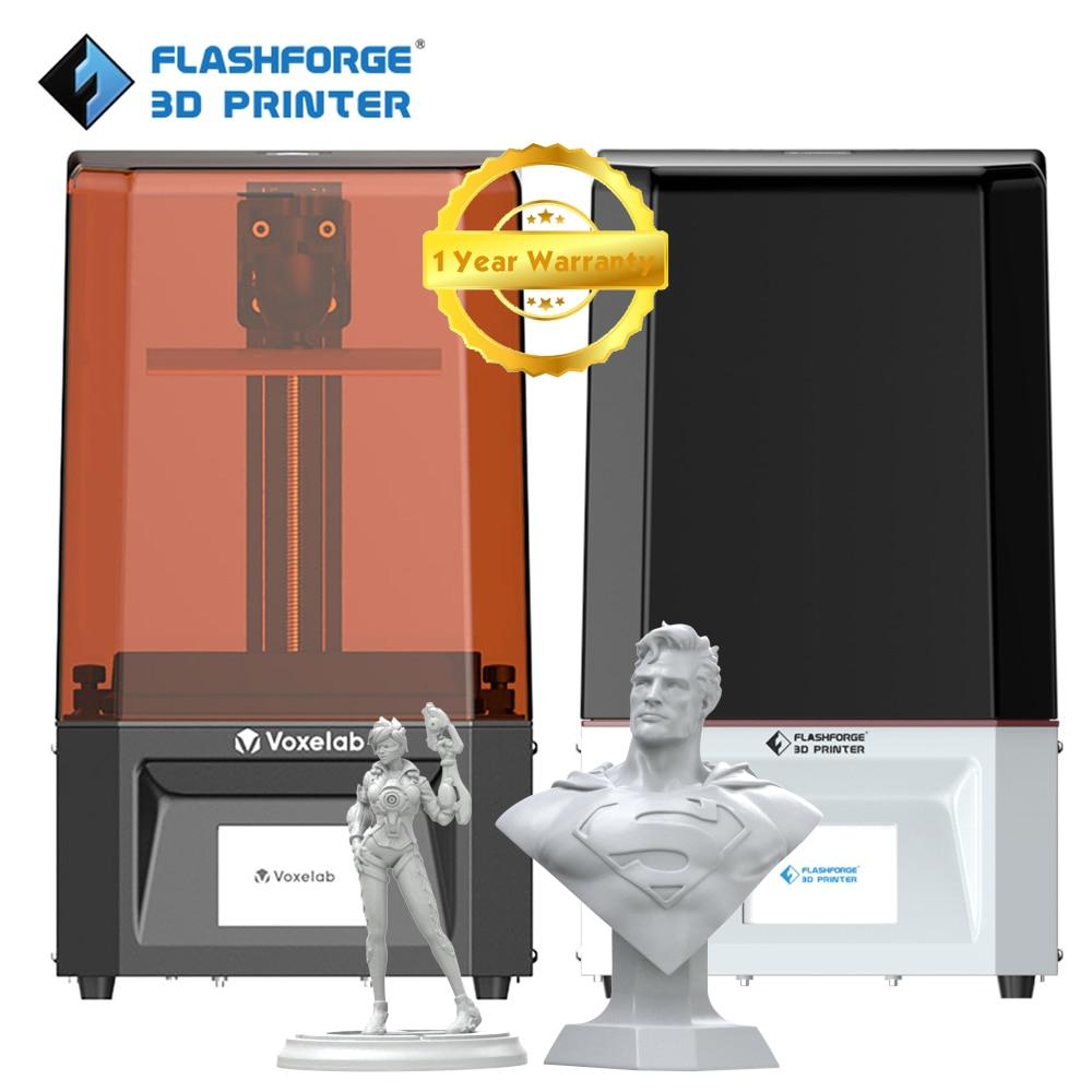 Flashforge LCD 3d Printer High Precision Printing Size 130*78*155mm 2K LCD Screen Led Light Easy to Leveling UV Printer 3d