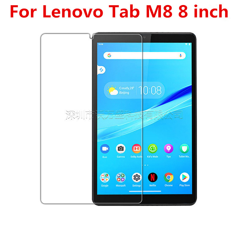 9H Full Cover Tablet Tempered Glass For Lenovo Tab  M8 TB-8505F TB-8505X 8.0 Inch Glass Film