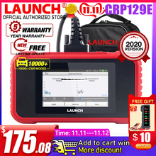 Launch X431CRP129E Car OBD2 Diagnostic Tool Full OBDII Functions SRS/ABS/EN/AT with 5 Reset Services x431 CRP129X Code read