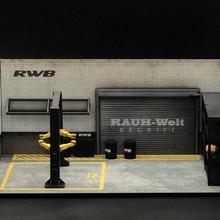 Layout-Model Model-Rwb 1:64-Scale Scene Scene-Decorations Landing-Machine Take-Off Maintenance