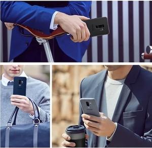 Image 2 - SAMSUNG Original Anti knock Offizielle Telefon Fall Für Samsung Galaxy S9 G9600 S9 + S9 Plus S9Plus G9650 Alcantara telefon Abdeckung Fall
