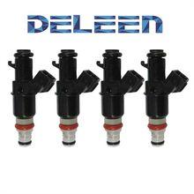 Deleen 4x injetores de combustível 16450-raa-a01 para h onda a ccord c R-V elemento 2005-2010 acessórios do carro