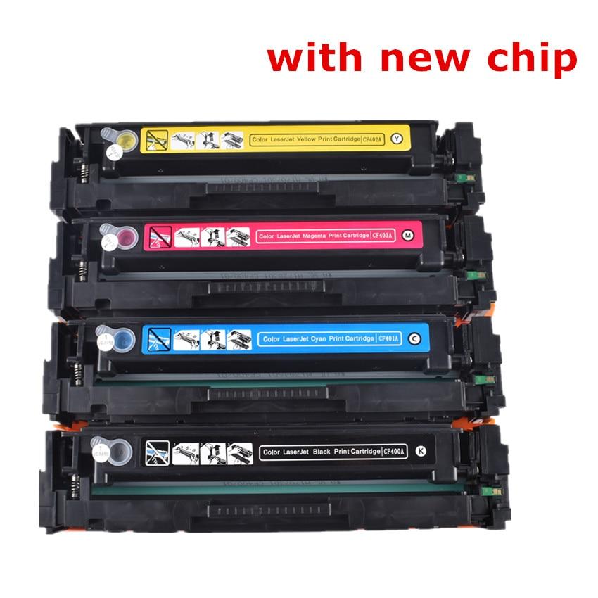 BLOOM Compatible CF510A CF511A 204A Color Toner Cartridge For Hp Color LaserJet Pro M154 MFP M180 M180n M181 M181fw Printer