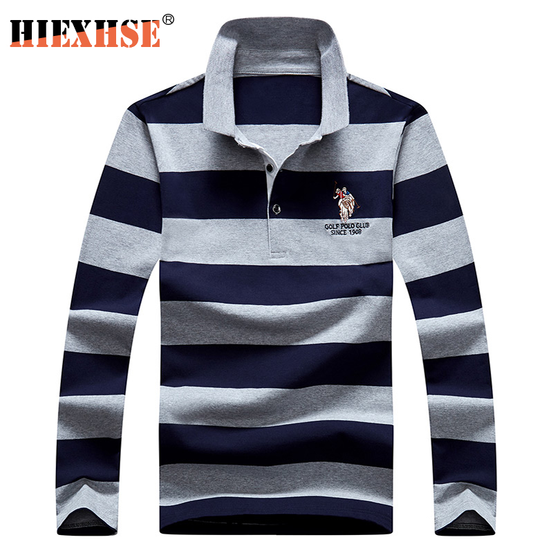 2020 New Arrival Autumn High Quality Men Polo Shirts Embroidery Polo Shirt Casual Polo Shirts men's Long sleeve polo shirt polo 1