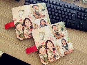 Image 5 - JOOKI PU cüzdan deri iphone için kılıf X 8 artı 7 artı 6 6 artı 5 5s kendi tasarım kapak özel DIY baskı fotoğraf telefon kılıfı kapak