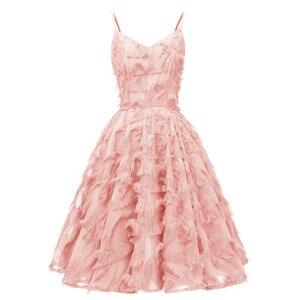 Burgundy Spaghetti Strap Fringe Tassel Big Swing Solid Dress Women Fit & Flare High Waist Elegant Party sale Dresses