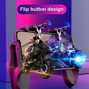 Image 5 - טלפון נייד Cooler Pubg בקר Gamepad בקר Shooter בקר אוהד אילם Gamepad ג ויסטיק Joypad נייד