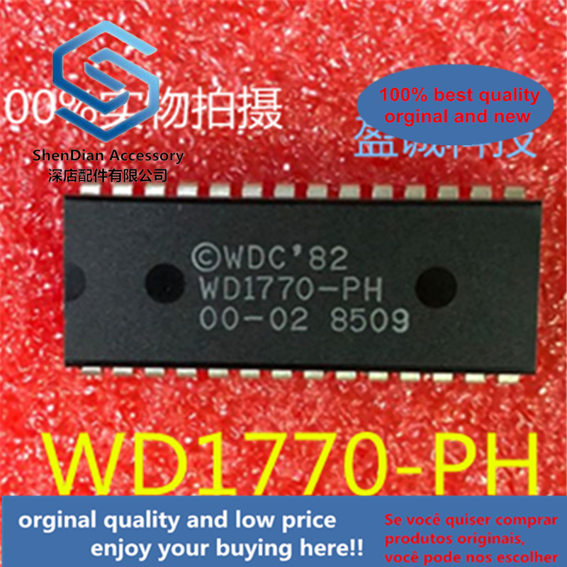5pcs 100% Orginal New New  WD1770-PH Wd1770-ph-00-02 Dip-28 New, Original And Straight In Stock
