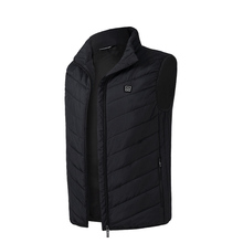 Outdoor USB Charging Electric Heated Vest Heating Waistcoat Thermal Casual Soft Riding Warm Heating Clothes original xiaomi mijia pma graphene multifunctional heating men vest washable warm business waistcoat for adult man