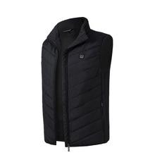 цена Outdoor USB Charging Electric Heated Vest Heating Waistcoat Thermal Casual Soft Riding Warm Heating Clothes онлайн в 2017 году