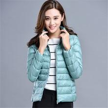 Women Winter Coat 2019 New Puffer Duck Down Jacket Ultralight Portable Down Coat for Women Female Winter Jackets Parka Outerwear цены онлайн