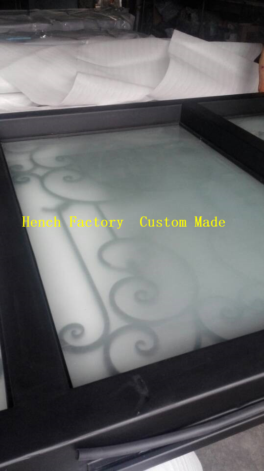 Shanghai Hench Brand China Factory 100% Custom Made Sale Australia Used Wrought Iron Doors