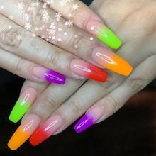 Rainbow Color Nail Gels Kit