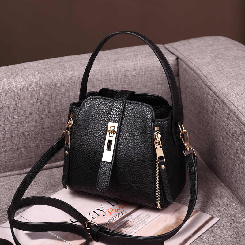 High Quality Natural Skin Luxury Ladies Cross Body Tote Purse Handbag Women Messenger Shoulder Top Handle Genuine Leather  C1168