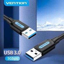 Vention-Cable de extensión USB 3,0 tipo A, Cable macho A macho 3,0 2,0, extensor para disco duro, TV Box, portátil, Cable USB A USB