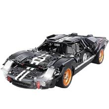 2404Pcs Moc Static Version Car Series 1:10 Supercar DIY Sports Car Bricks Vehicle DIY Building Blocks Model Toy Christmas Gift