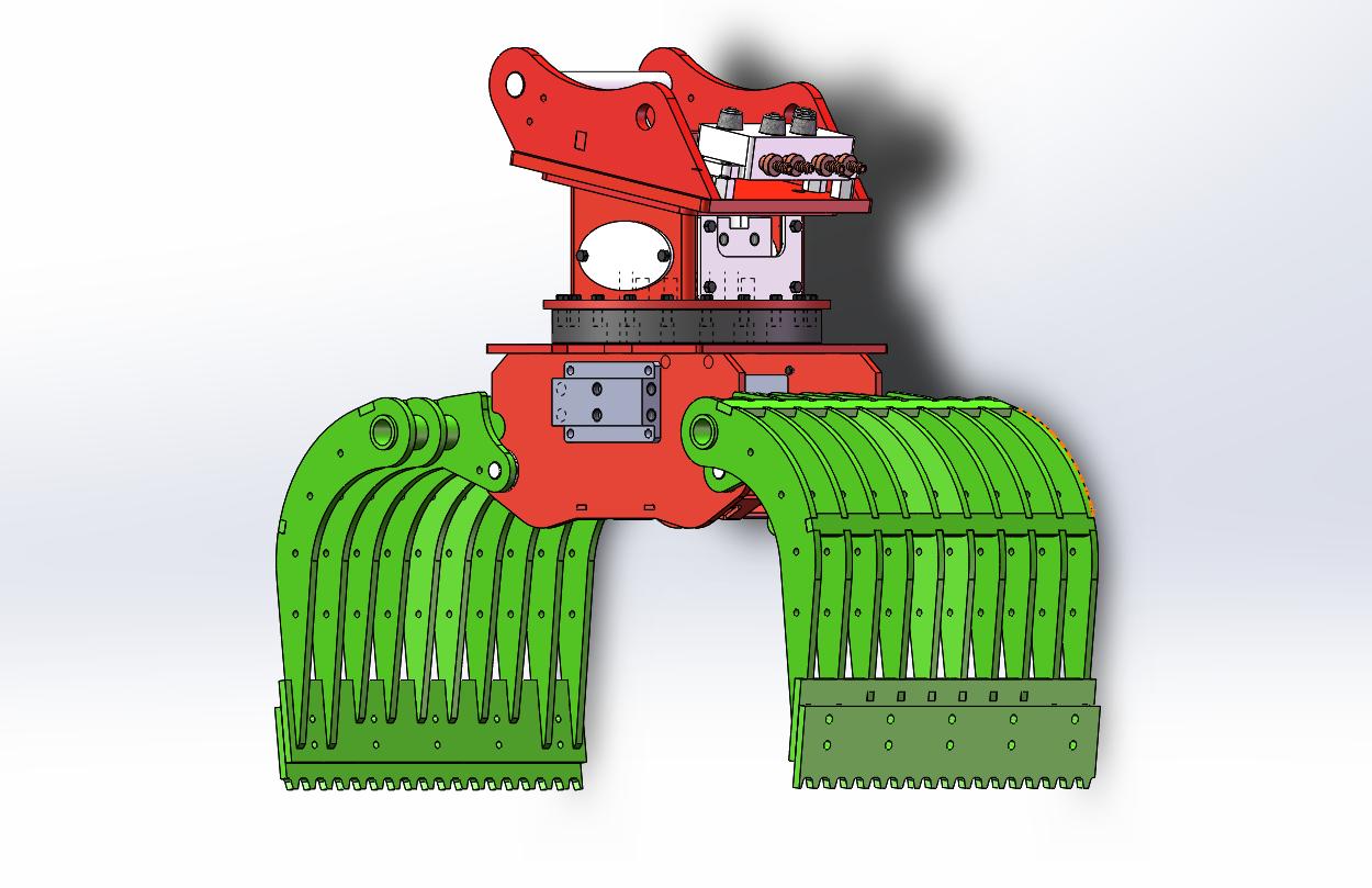 1/14 RC Hydraulic Excavator Full-Metal RTR Kabolite K970 4