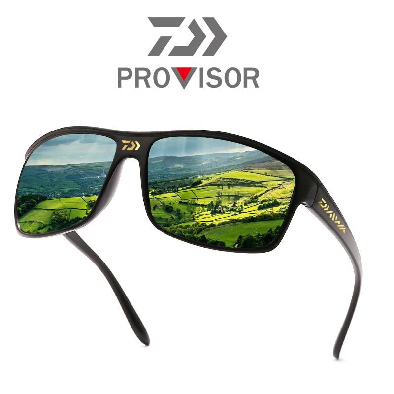 Dawa Outdoor Driving Fishing UV Protection Sunglasses Man Sports Cycling Sunglasses Fashion Polarized Glasses Fishing Sunglasses