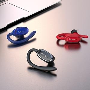 Image 2 - 高速オンチップ · ミニ Bluetooth イヤーフックイヤホンスーパー低音ワイヤレスヘッドセットイヤフォン用 iphone × huawei P20