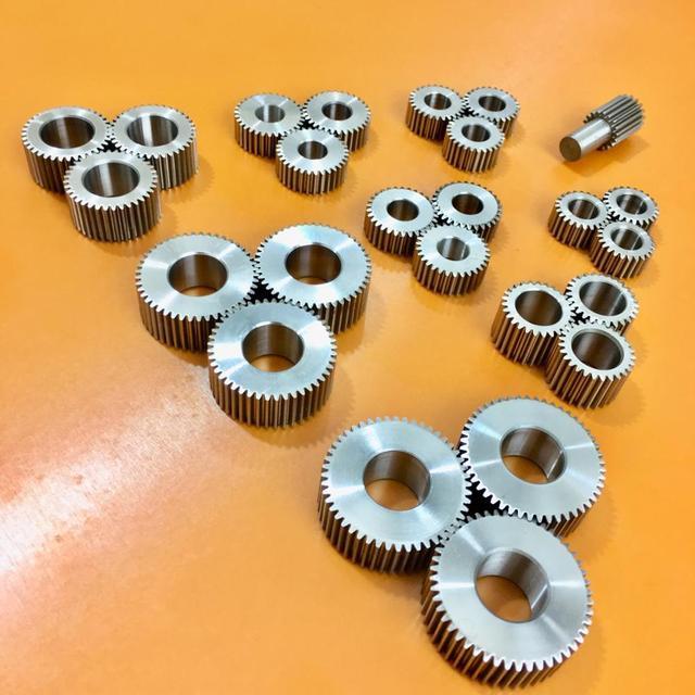 3/set 0.6M Precision servo reducer planetary gear  24T 27T 30T 36T 40T 45T 48T 8MM shaft hole diameter