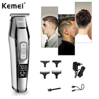 Hair Trimming Tool Hair Trimmer Hair Clipper Clippers Painless Health Beauty Shaving Trimmers Portable Fashion Silvery For man