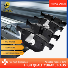 Fit For BMW 525i Manual Trans 525xi 528i Ceramic car brake pads, no noise Fast heat dissipation Slotted design Top&q D1042