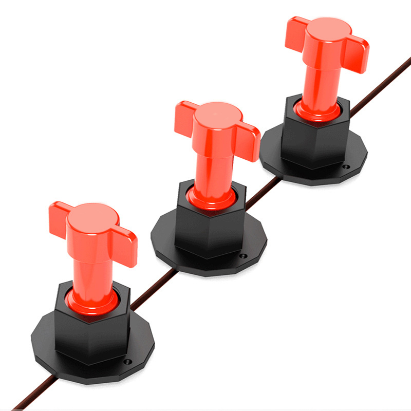 75 Pcs Reusable Anti-Lippage Tile Leveling System Locator Tool Ceramic Floor Wall HUG-Deals