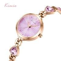 NO.2Brand Women Bracelet Watches Luxury Ladies Crystal Quartz Watch Irregular Gem Dress Waterproof Wristwatch Relogio Feminino