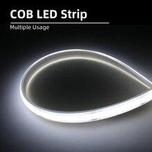 High Density COB/FOB Led Flexible Strip Light, Softable Stri