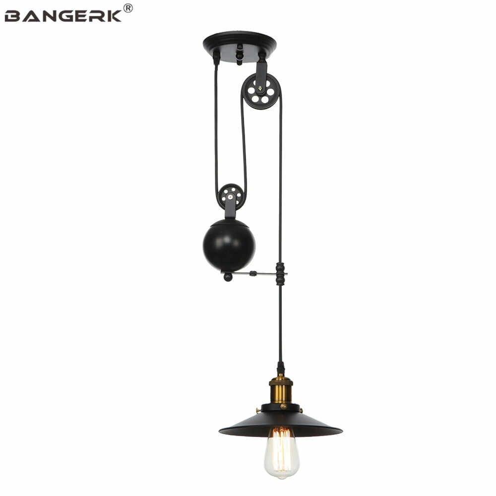 RH промышленные подвесные светильники для подвешивания ветра железные винтажные Эдисона Лофт Декор светодиодный подвесной светильник для столовой Бар осветительные приборы для внутреннего использования