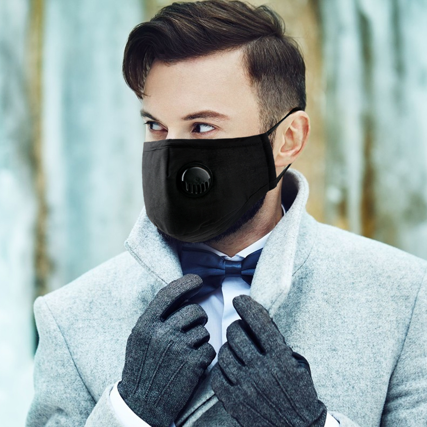 Cotton Mask Mouth Respirator PM 2.5 Activated Carbon Mask Dustproof Sport Ski Face Filter Mouth-muffle Face Mask маска