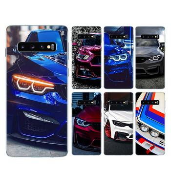 Blue Red for Bmw Bags Silicone Shell Case For Samsung Galaxy S20+ S20 S10 S9 S8 Plus S10E S6 S7 Edge Note 8 9 10 Pro Bags Cover image