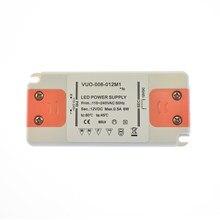 Ultrathin Constant Voltage Transformer LED Panel Light Driver Adapter 6W 110V 220V to 12V Output Power Supply LED Driver