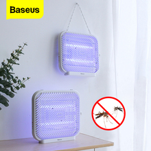 Baseus USB Powered UV Light Mosquito Killer Lamp LED Electric Anti Mosquito Housefly Insect Trap Killing Light For Wall Desktop