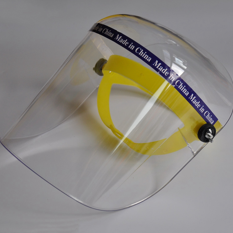 Plexiglass Protective Mask Transparent Laboratory Welding Working Eyes Protection 21*32CM Monolithic Splash-proof Safety Mask