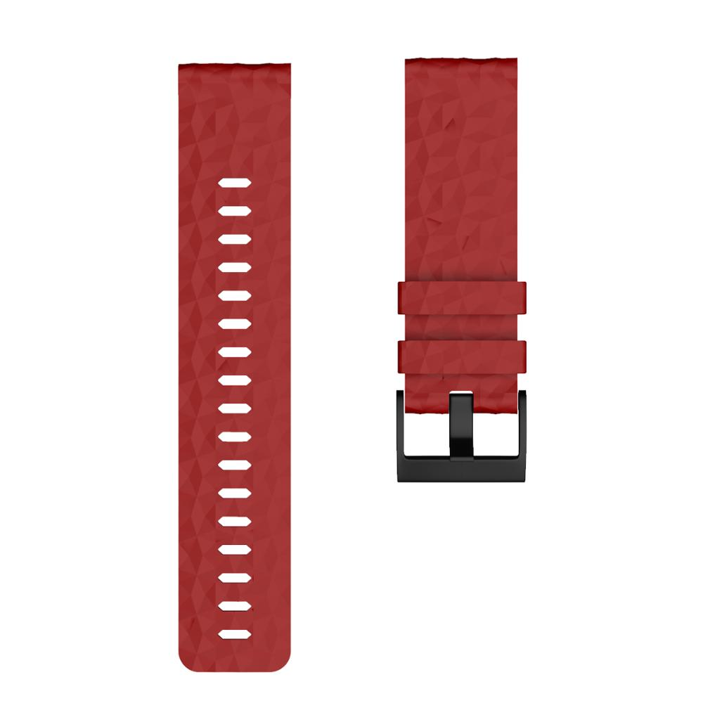 Soft Silicone Watchband for SUUNTO 9 Baro Copper band 24mm Width Silicone Replacement Wristband Strap for SUUNTO 9 Baro Spartan in Watchbands from Watches
