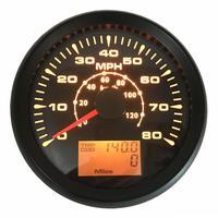 Pack of 1 0 80MPH Auto Tuning GPS Speedometer Gauges 85mm 0 120km/h GPS Speed Mileometers Odometers Trip Gauges Cog 9 32vdc