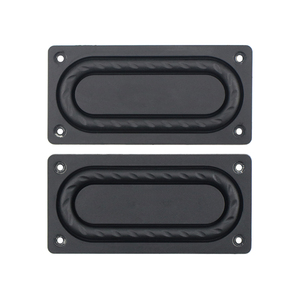 Image 5 - GHXAMP 87*42mm All Inclusive Bass Radiator With Stand Enhanced Bass Low Frequency Membrane Vibrating Membrane Passive Board