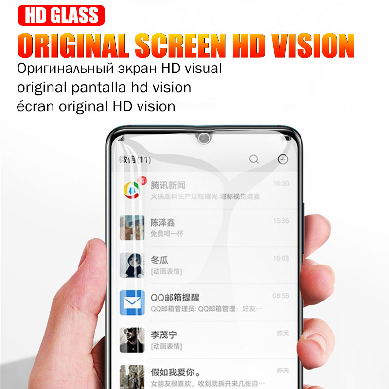 Protective Tempered Glass For Huawei P30 P20 P10 Honor 10 Lite 8X Screen Protector For Huawei Mate 20 Pro Protection Ecran Glass 6