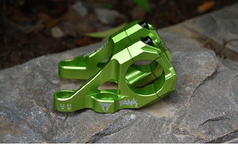 Attacco manubrio In Lega di DJ/AM/FR/DH downhill in mountain bike leva 35 MILLIMETRI di altezza della spalla del doppio forcella manubrio stelo PASSARE QUEST - 3