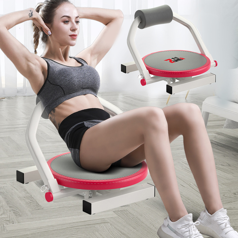 Sit Up Abdominal Benches Board Abdominal Exerciser Workout Strength Machine Adjustable Fitness Foldable Supine Board Home Sports image