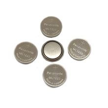 10pcs/lot New Original Panasonic ML1220 3V ML 1220 Rechargeable CMOS RTC BIOS Back Up Cell Button Coin Battery Batteries